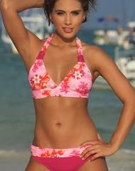 Sunset Banded Bikini