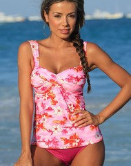 Sunset Beach Twist Tankini