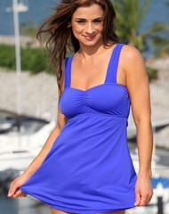 Royal Swim Dress