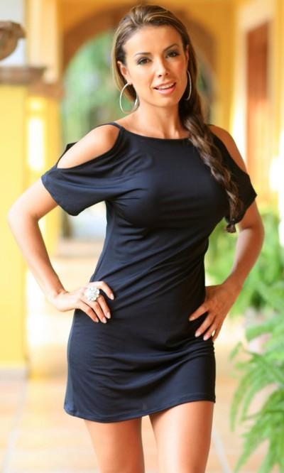 Desperate Housewife Mini in Black - Dresses