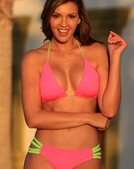 Neon Sexy Straps Bikini