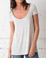 Short Sleeve Drape Top