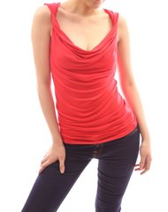 Sexy Twist Cowl Neck Clubwear Party Tank Cami
