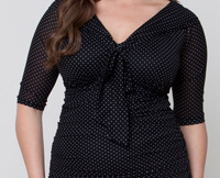 plus size mesh shirt